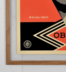obey not great men screen print shepard fairey graffiti street art urbain serigraphie obey giant 2