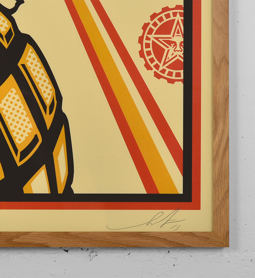 Shepard Fairey (Obey) - Power • Offset Print • Signed