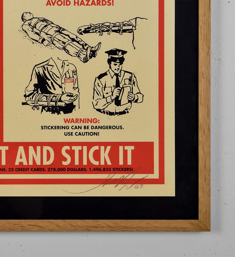 Obey sticker kit print shepard fairey graffiti screen print street art urbain serigraphie obey giant 3