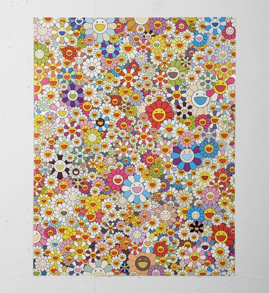 takashi murakami Poporoke Forest lithography artwork modern art contemporary kaikai kiki