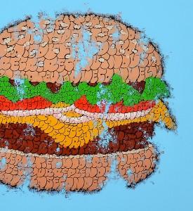 tilt big tas print burger graffiti throw up street art urbain wall artwork sold art 3