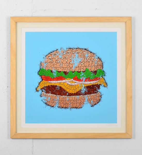tilt big tas print burger graffiti throw up street art urbain wall artwork sold art