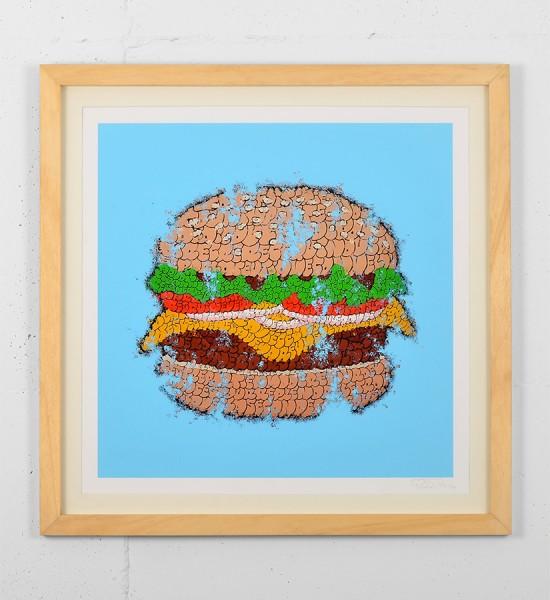 tilt big tas print burger graffiti throw up street art urbain wall artwork sold art