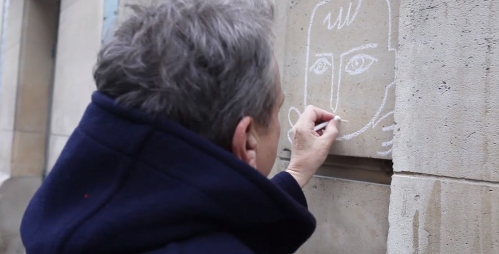 Jean_charles_de_castelbajac_jcdc_craie_telerama_interview_studio_street_art_dessin