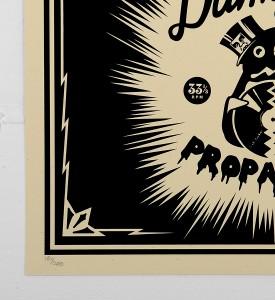Obey_shepard_fairey_print_damaged_propaganda graffiti street art urbain serigraphie obey giant soldart.com sold art galerie art urbain online street art gallery_2