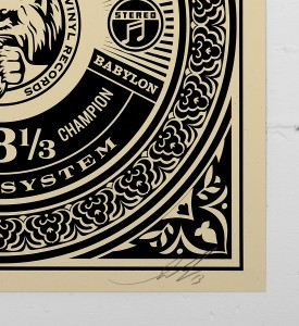 Obey_shepard_fairey_print_sound_system_ graffiti street art urbain serigraphie obey giant soldart.com sold art galerie art urbain online street art gallery 3