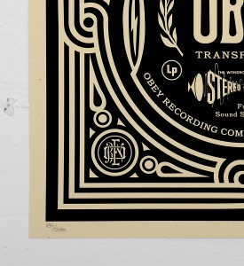 Obey_shepard_fairey_print_stereo graffiti street art urbain serigraphie obey giant soldart.com sold art galerie art urbain online street art gallery_2
