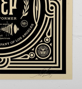 Obey_shepard_fairey_print_stereo graffiti street art urbain serigraphie obey giant soldart.com sold art galerie art urbain online street art gallery_3