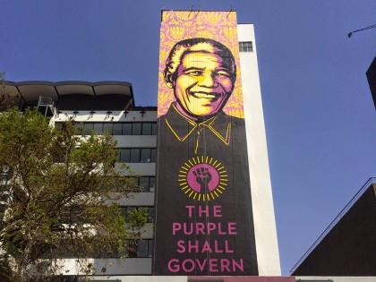 Vidéo • Shepard Fairey rend hommage à Nelson Mandela
