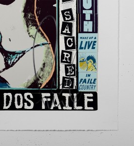 faile The Right One Happens Everyday screen print faileart street art urbain serigraphie sold art sale print gallery online soldart.com_3
