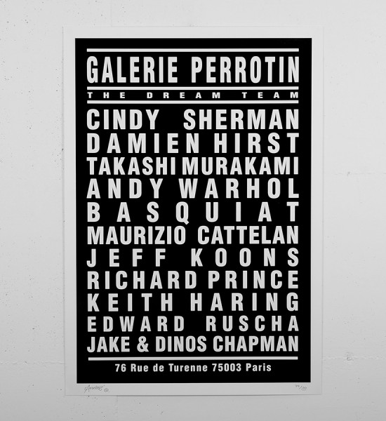Andre_saraiva_print_serigraphie_dream concert monsieur A Mr A damien_hirst_perrotin_paris_andy_warhol_cindy_sherman_keith_haring_basquiat_jeff_koons sold art soldart