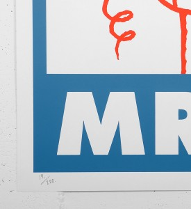 Andre_saraiva_screen print serigraphie_blue_red_art_le baron paris monsieurA_mrA_monsieur A Mr A sold art galerie soldart gallery_2