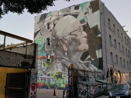 El Mac x Kofie x Nuke • Nouveau mur à Los Angeles