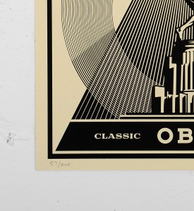 Obey_shepard_fairey_print_classic_disc_graffiti street art urbain serigraphie obey giant soldart.com sold art galerie art urbain online street art gallery 2