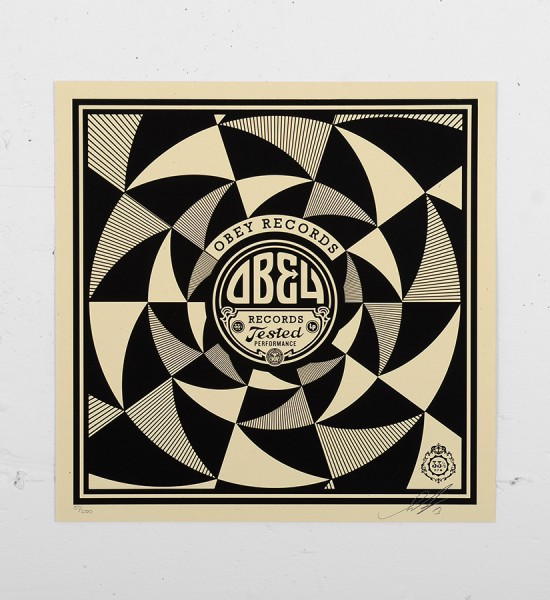 Obey_shepard_fairey_print_tested graffiti street art urbain serigraphie obey giant soldart.com sold art galerie art urbain online street art gallery