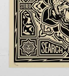 Obey_shepard_fairey_print_tiger graffiti street art urbain serigraphie obey giant soldart.com sold art galerie art urbain online street art gallery_2
