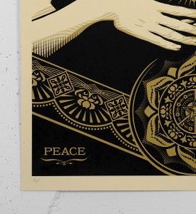 Obey_shepard_fairey_serigraphie_print_PEACE_JUSTICE_WOMAN_graffiti street art urbain serigraphie obey giant soldart.com sold art galerie art urbain online street art gallery 2