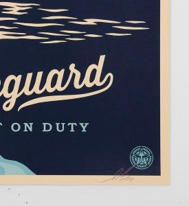 obey-shepard-fairey-Lifeguard Not On Duty-serigraphie obey giant screen print soldart.com buy sell art acheter vendre oeuvre art sold art galerie art urbain en ligne online street art gallery 3