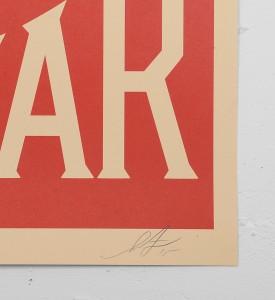 obey-shepard-fairey-make-art-not-war obey giant offset print soldart.com buy sell art acheter vendre oeuvre art sold art galerie art urbain en ligne online street art gallery 2