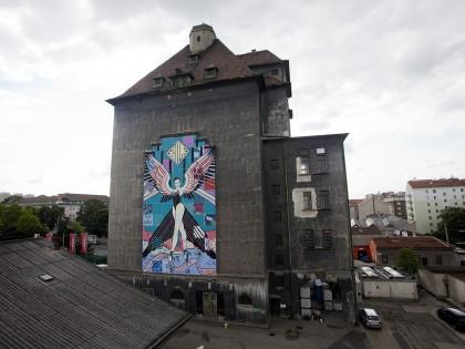 Faile • Mural – Vienna, Austria – 2013