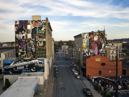 Faile • Mural – Covington (US) – 2014