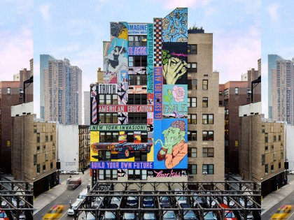 Faile • Mural – Times Square – New-York 2013