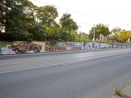 Faile • Mural – Toronto, Canada – 2013