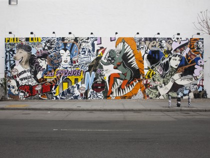 Faile • Mural – Houston Bowery – New York – 2011