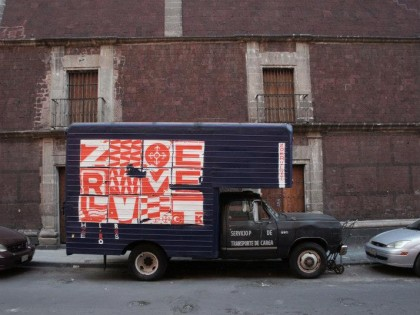 Zoer & Velvet • Mexico 2013 – Composition on truck