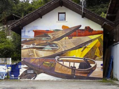Zoer & Velvet • «Potlatch» – Kill Art Factory Festival – 2015