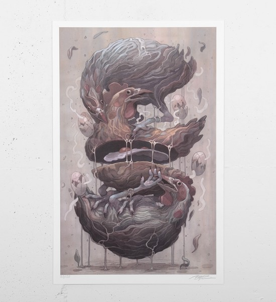 aryz-print-chickens-giclee-print-limited edition-signed-numbered-street-art-graffiti