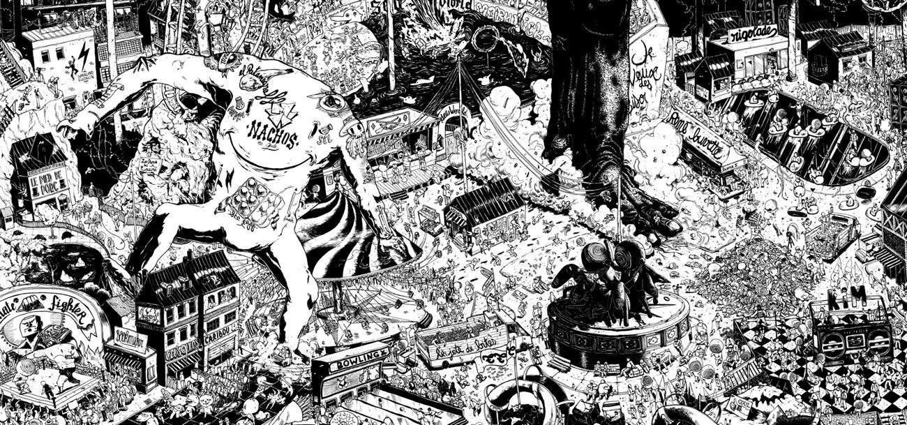 Ugo Gattoni ultra copains project illustration-2