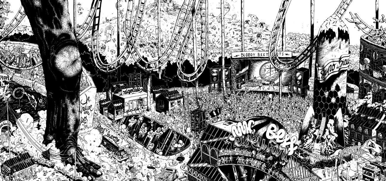 Ugo Gattoni ultra copains project illustration-3