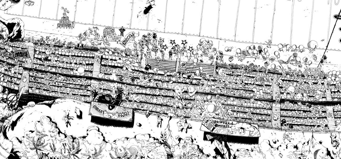 Ugo Gattoni ultra copains project illustration-5