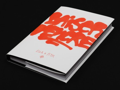 Baiser d'encre, new book by Ella & Pitr
