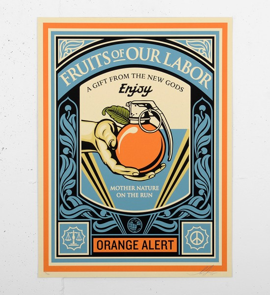 shepard-fairey-obey-Fruits-of-our-labor-screen print-serigraphie-signed-numbered