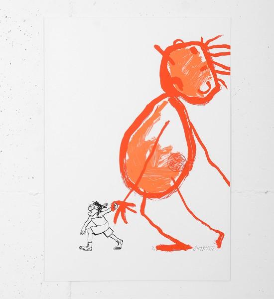 Ella-Pitr-Papiers-Peintres-silkscreen-print-serigraphie-oeuvre-soldart-gallery-galerie-street-art-saint-etienne-ALLEZ-VIENS