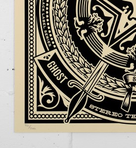 Obey_shepard_fairey_50 Shades of Black Box Set obey giant serigraphie screen print soldart.com sold art galerie art en ligne online street buy art sell gallery-ghost-of-war-records-cover-1