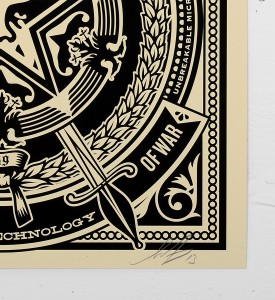 Obey_shepard_fairey_50 Shades of Black Box Set obey giant serigraphie screen print soldart.com sold art galerie art en ligne online street buy art sell gallery-ghost-of-war-records-cover-2