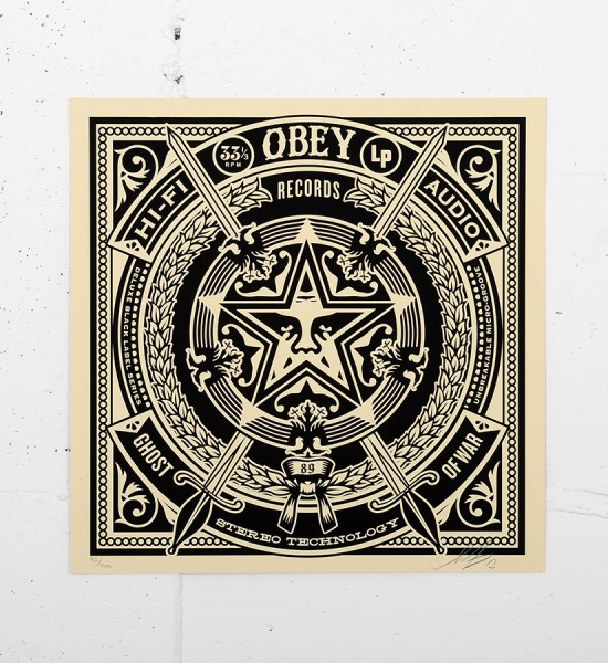 Obey_shepard_fairey_50 Shades of Black Box Set obey giant serigraphie screen print soldart.com sold art galerie art en ligne online street buy art sell gallery-ghost-of-war-records-cover