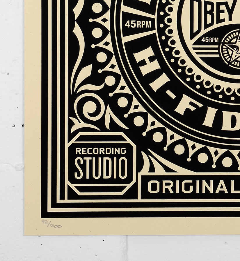 Shepard fairey obey print 42 silkscreen print for Buy street art online