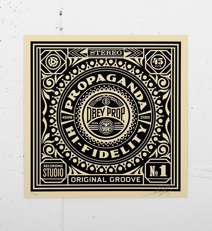Shepard fairey obey print 42 silkscreen print for Sell art prints online
