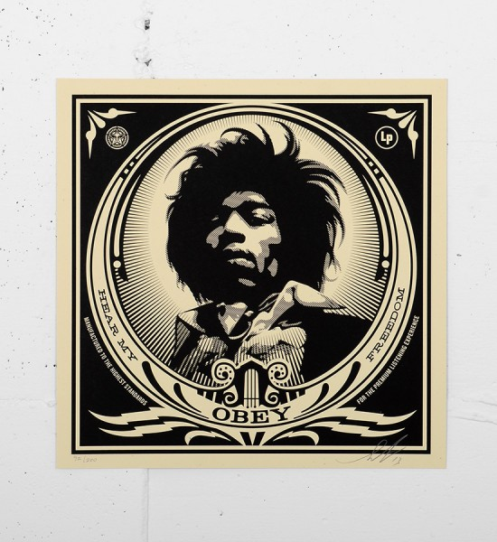 Obey_shepard_fairey_50 Shades of Black Box Set obey giant serigraphie screen print soldart.com sold art galerie art en ligne online street buy art sell gallery-jimi-hendrix-records-cover