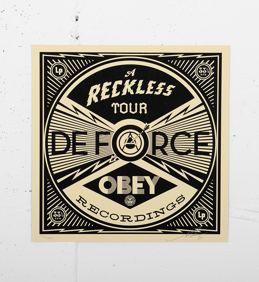 Shepard fairey obey s rigraphie 45 oeuvre for Buy street art online