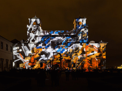 350 th anniversary of the Villa Medicis – Projection of works by Lek & Sowat