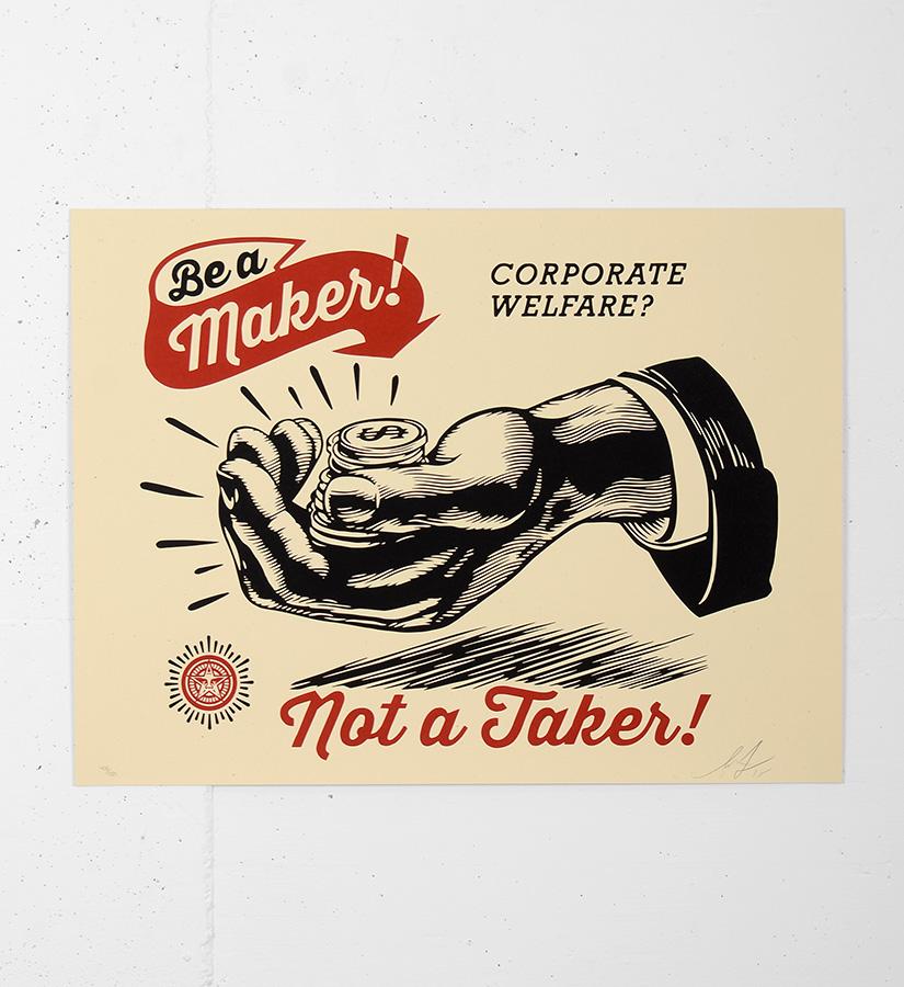 Shepard Fairey Poster Maker
