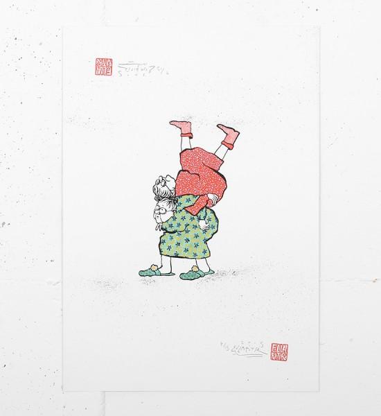ella et pitr_ellapitr_serigraphie_screen print_dessin art work oeuvre mamies_-scarabees_art_street_geant_anamorphose_19