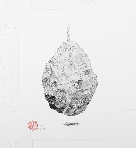 ella et pitr_ellapitr_serigraphie_screen print_dessin art work oeuvre pierre__cailloux_art_street_geant_anamorphose_10