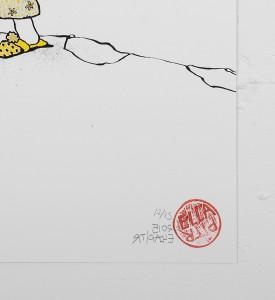 ella_pitr_ellapitr_serigraphie_print_mamies-scarabees_art_street_geant_anamorphose_screen print hand painted multiple soldart galerie art gallery-11