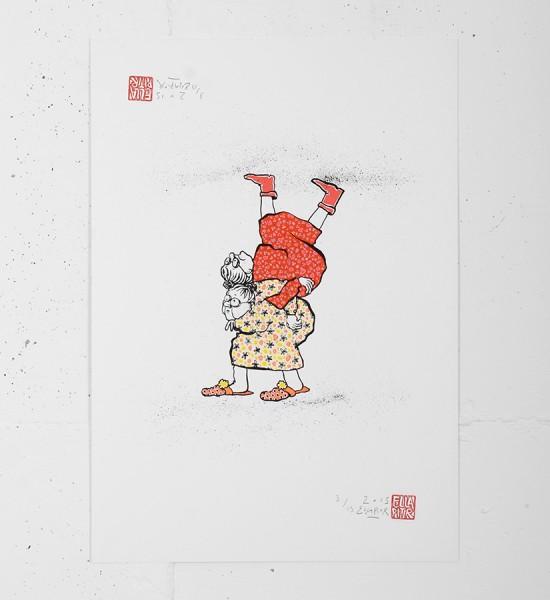 ella_pitr_ellapitr_serigraphie_print_mamies-scarabees_art_street_geant_anamorphose_screen print hand painted multiple soldart galerie art gallery-13